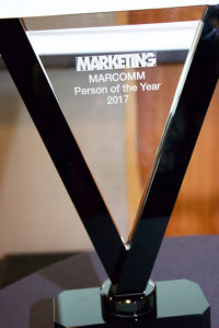 MARKETING Marcomm Person of the Year